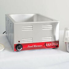 """12"""" x 20"""" Full Size Electric Countertop Buffet Kitchen Food Warmer - 120V, 1200W"""