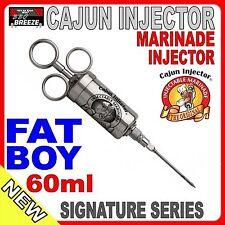 FAT BOY Hark 60ml Meat Injector - Curing / Marinating / Smoking / BBQ Cajun