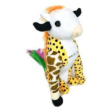 Rare Make My Toy Stuffed Giraffe Bull Cow Dragon Cheetah Animal Origin Plush