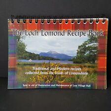 Loch Lomond Recipe Book Scottish Community Cookbook Traditional & Modern 2003