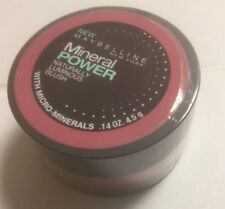 Maybelline Mineral Power Naturally Luminous Blush ( FRESH PLUM ) NEW.