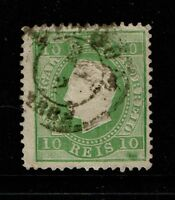Portugal SC# 34, Mint Hinged and Used, the used with Hinge Remnants - S4799