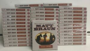 Texas Empire Sealed Audio Book by Matt Braun WHOLESALE LOT 40 pcs NEW AND SEALED