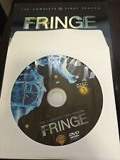 Fringe - Season 1, Disc 3 REPLACEMENT DISC (not full season)