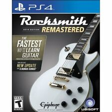 Rocksmith 2014 Edition Remastered - Sony PlayStation 4 PS4 Video Game SEALED!