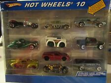 Hot Wheels 10 w/exclusive decoration car