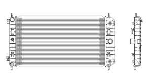 Radiator-Assembly TYC 2972