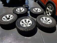 COOPER TYRES AND RIMS NISSAN PATROL SET OF 5 GOOD COND 265X75 R16 4X4