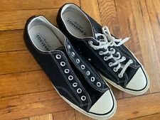 converse All Star chuck taylor 70 low Black {no box + missing one shoe lace!!!}