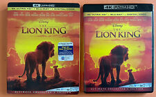 Disney: The Lion King 4K Ultra HD Blu-ray W/Slipcover
