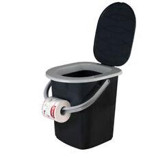 WC Inodoro portátil 22l Campamento Baño Asiento Útil durante viajes en acampada
