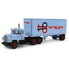 First Gear Diecast 1/64 Scale Briggs Transportation Mack R Model Truck 60-0284