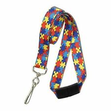 Autism Awareness Breakaway Neck Lanyard with Swivel Hook by Specialist ID