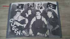 Queen Freddy Mercury the Works rock group music artist poster FLAG