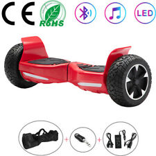 Hoverboard 8,5 Zoll Elektro Scooter Bluetooth Off-road Balance ElektroRoller Rot