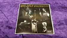 "The Rolling Stones - 'got LIVE if you want it!' 6-Track 7"" Vinyl EP excellent"