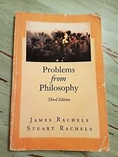 Problems from Philosophy 3rd edition James Rachels. Some wear on soft cover.
