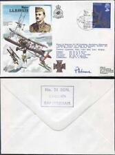 HA39b Major L.G. Hawker Pilot Signed Cover