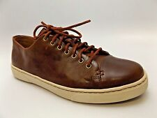 BORN HAND CRAFTED FOOTWEAR TIE SPORT BROPWN LEATHER SHOES SZ 8.0 M DISPLAY D4144