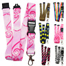 SPIRIUS Breakaway Lanyard Neck strap for ID card badge Holder with metal clip