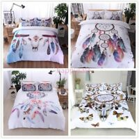 Claw Dream Catcher Quilt Cover Bedding Set Bohemian Boho Duvet Cover Pillowcase