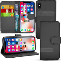 Wallet Leather Case Flip Cover+ Screen Protector For Apple IPhone Varies Models