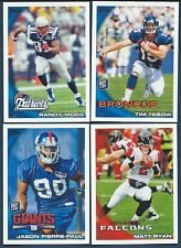 Complete Finish Your 2010 Topps Football Set 1-440 U PICK 30