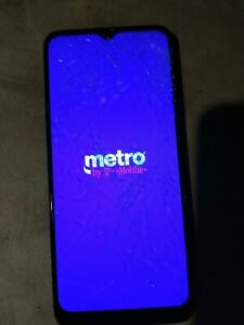 Revvl 4+ - T-Mobile Black -PARTS!!! CLEAN UNLOCKED ESN CRACKED SCREEN