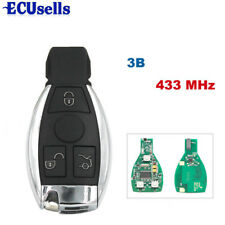 3B Smart Remote Key for Mercedes Benz with BGA NEC Chip 433MHz With small key