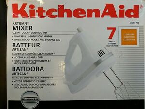 Kitchen-Aid - Artisan 7-Speed Hand Mixer - Clementine Orange