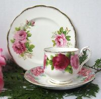Royal Albert Teacup Trio Mismatch Royal Standard Saucer & Royal Albert Plate