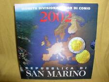 San Marino  KMS 2002 st    der  1. Euro KMS