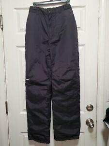 Men's SkiGear Black Nylon Snow Ski/Board Pants Size Medium NICE!