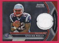 STEVAN RIDLEY RC 2011 BOWMAN STERLING #BSR-SR JERSEY FB148