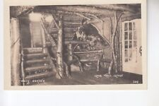 Real Photo Postcard Cozy Corner in the Long Trail Lodge Stratton  VT  300