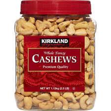 Kirkland Signature Whole Fancy Cashews, 2.5 lbs