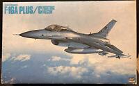 RARE F-16A Plus/C Hasegawa 1:32 Model Kit NEW in box Sealed parts
