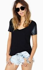 Unbranded Leather Tops & Blouses for Women