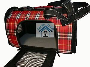 Pet Carrier Dog Cat Puppy Travel Bag Cage Crate Foldable Leisure kennel Tote UK