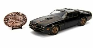 Jada 1/24, Pontiac Firebird 'Smokey and the Bandit' and Bandit + Belt Buckle (Tv
