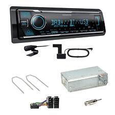 Kenwood KMM-BT506DAB Digitalradio USB Einbauset für Renault Kangoo KC Laguna 1 2
