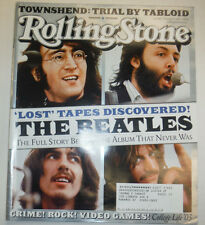 Rolling Stone Magazine The Beatles & Pete Townshend February 2003 031115R