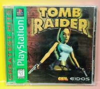 Tomb Raider  ~ Playstation 1 2 PS1 PS2 Game Nice Clean Disc Complete 1 Owner