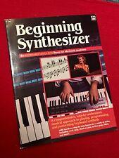 Beginning Synthesizer (Keyboard Magazine), Vintage Book, 1986