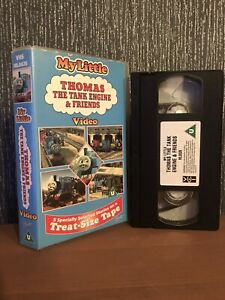 My Little Thomas The Tank Engine & Friends (1996, TREAT SIZE VHS Tape)