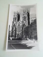 YORK  Vintage RPPC -  YORK MINSTER West Front Circa 1959 W. G. Green  §A1853