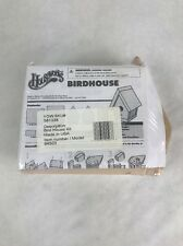 Houseworks Bird House Kit 94503 Fun DIY Project