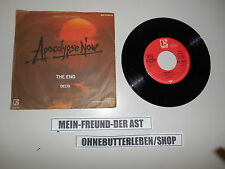 "7"" OST Apocalypse Now: the end/Delta Elektra F Ford Coppola"