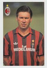 (O&C) Cartolina Milan Ancellotti Milano, Calcio,Bayern München [a3]
