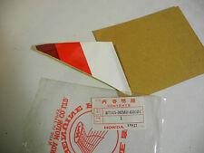 Sticker Post. Dx.honda Xl600rm 87115-mm0-620zc